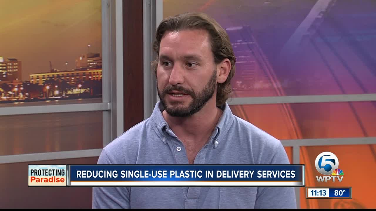 Delivery Dudes Works To Reduce Single-use Plastic
