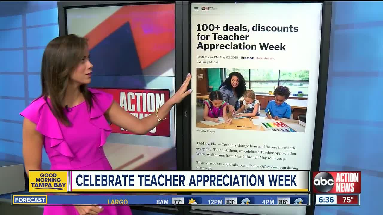 100+ deals, discounts for Teacher Appreciation Week