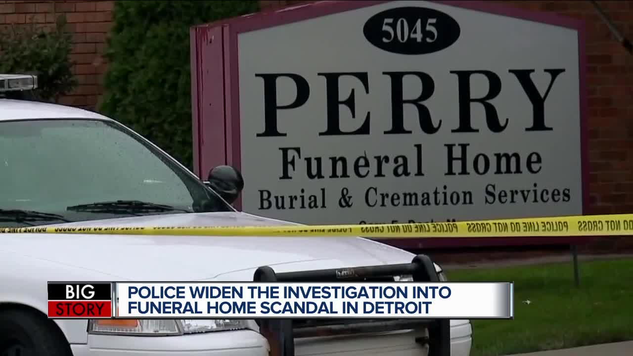 Detroit woman files lawsuit against Perry Funeral Home, WSU