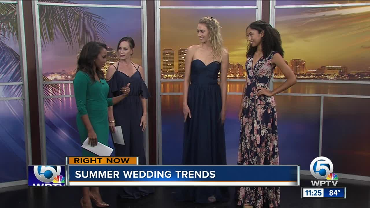 ae9b11a0d2f Summer Wedding Trends with Kleinfeld Bridal Party