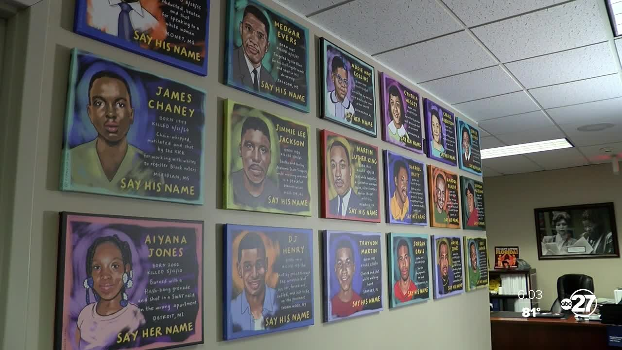Portraits remember Black Americans in Florida House ...