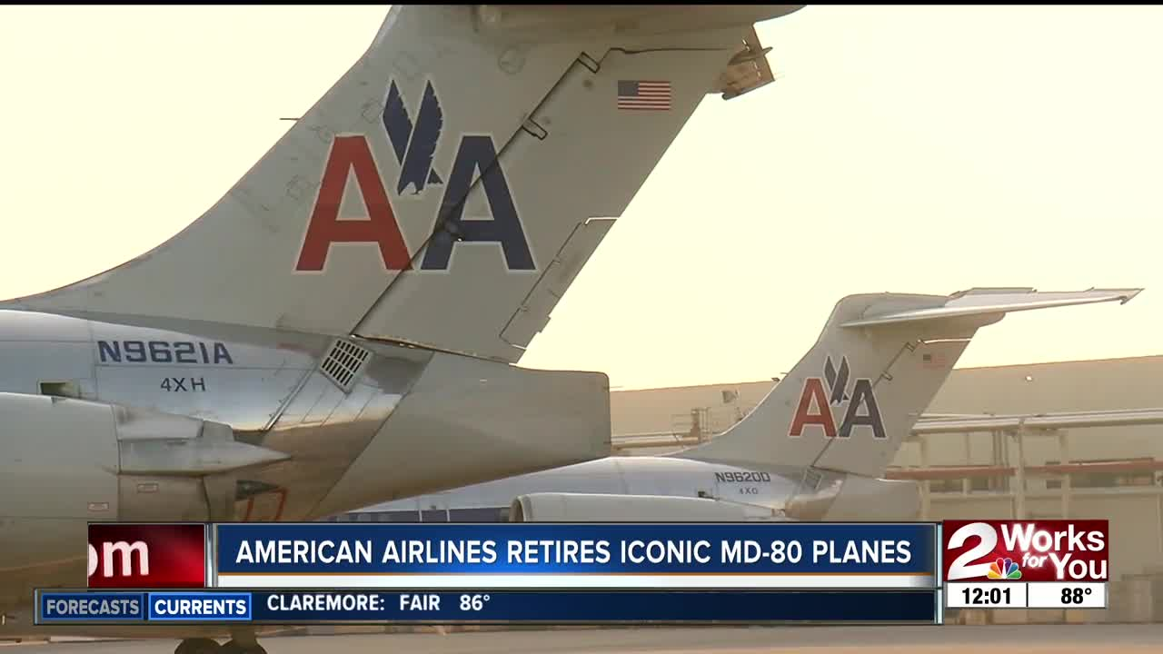 American Airlines says goodbye to MD-80s