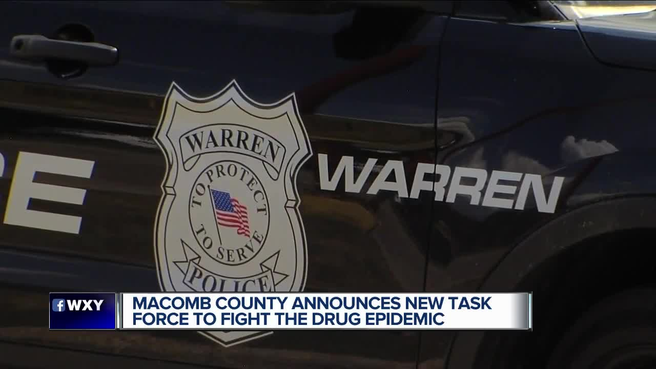 New task force to combat drug epidemic in Macomb County