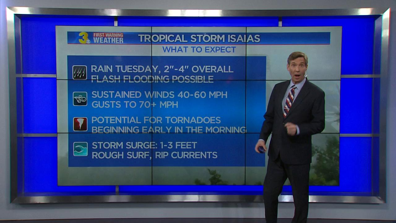 Tropical Storm Isaias batters US Northeast