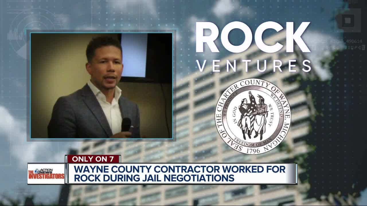 Wayne County contractor worked for Rock Ventures during jail