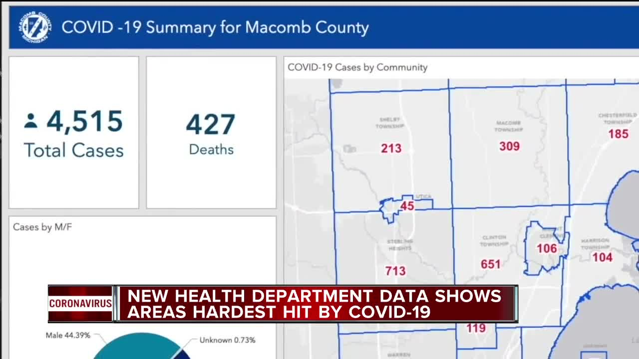 Which Metro Detroit Communities Are Hardest Hit By Covid 19