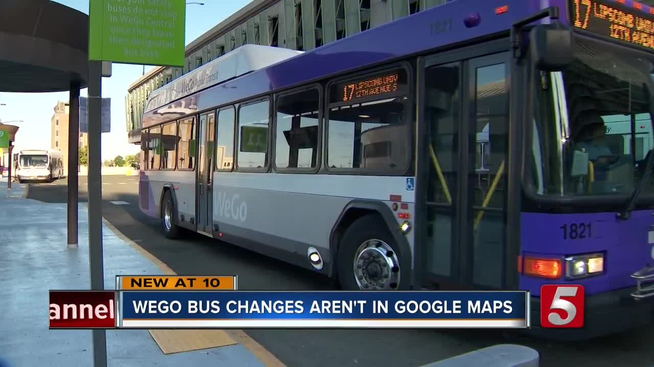 WeGo bus route changes lead to m confusion for riders who ... Get Bus Directions Google Maps on funny google directions, bing get directions, i need to get directions, google business card, get walking directions, google earth street view, maps and directions, google us time zones map, google mapquest,