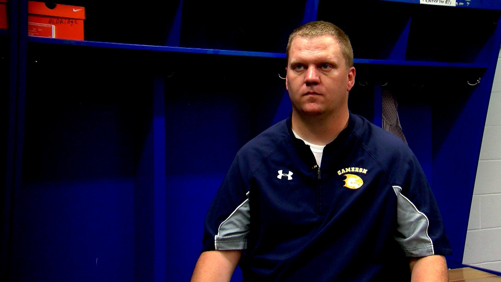 Head coach Scott Holt