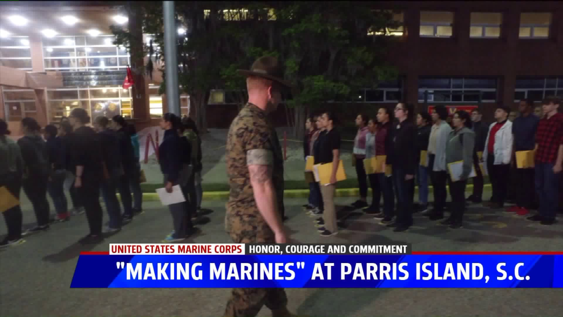 Making The Few The Proud How Marines Are Made At Parris Island