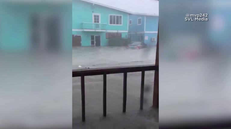 VIDEO: las inundaciones que causo Dorian en las Bahamas.