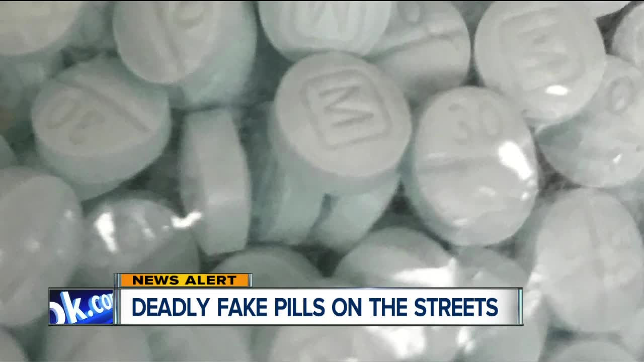 More than 250 blue fentanyl-laced pills mimicking