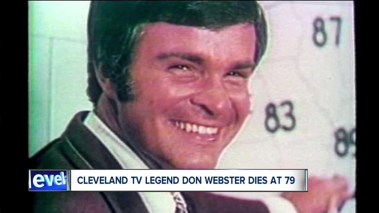 Legendary former News 5 Cleveland TV personality Don Webster