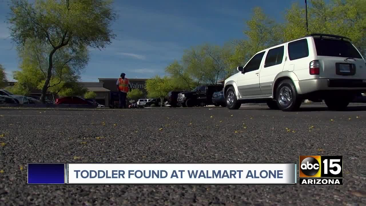 PD: Child found alone outside Walmart near 35th Avenue and Bethany