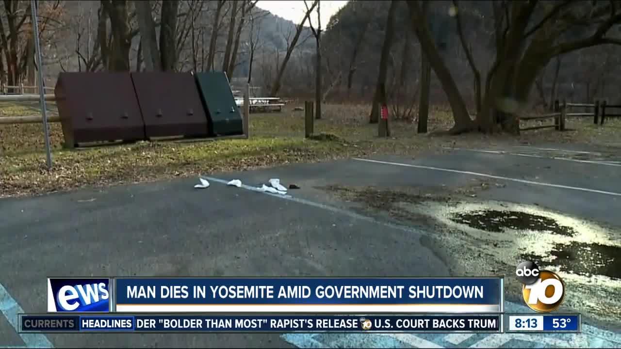 Government shutdown delays investigation into man's death at