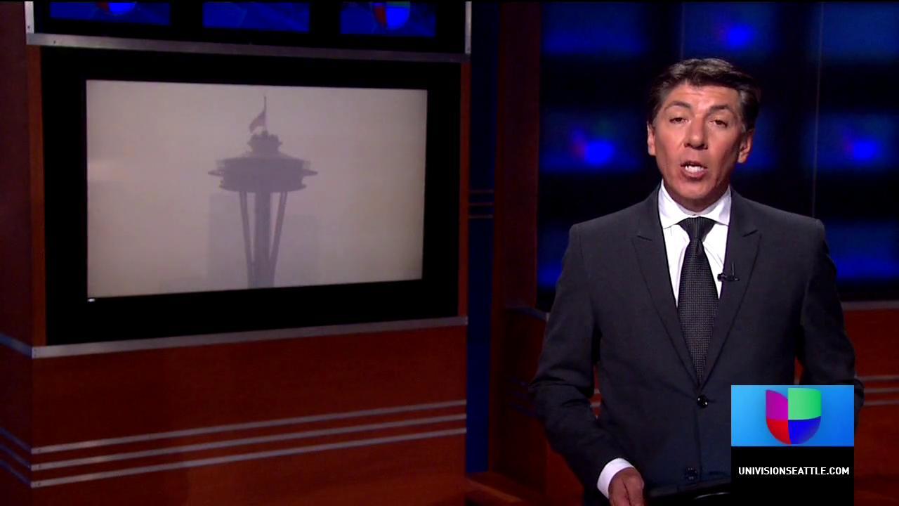 Calidad del aire insalubre en el área de Seattle
