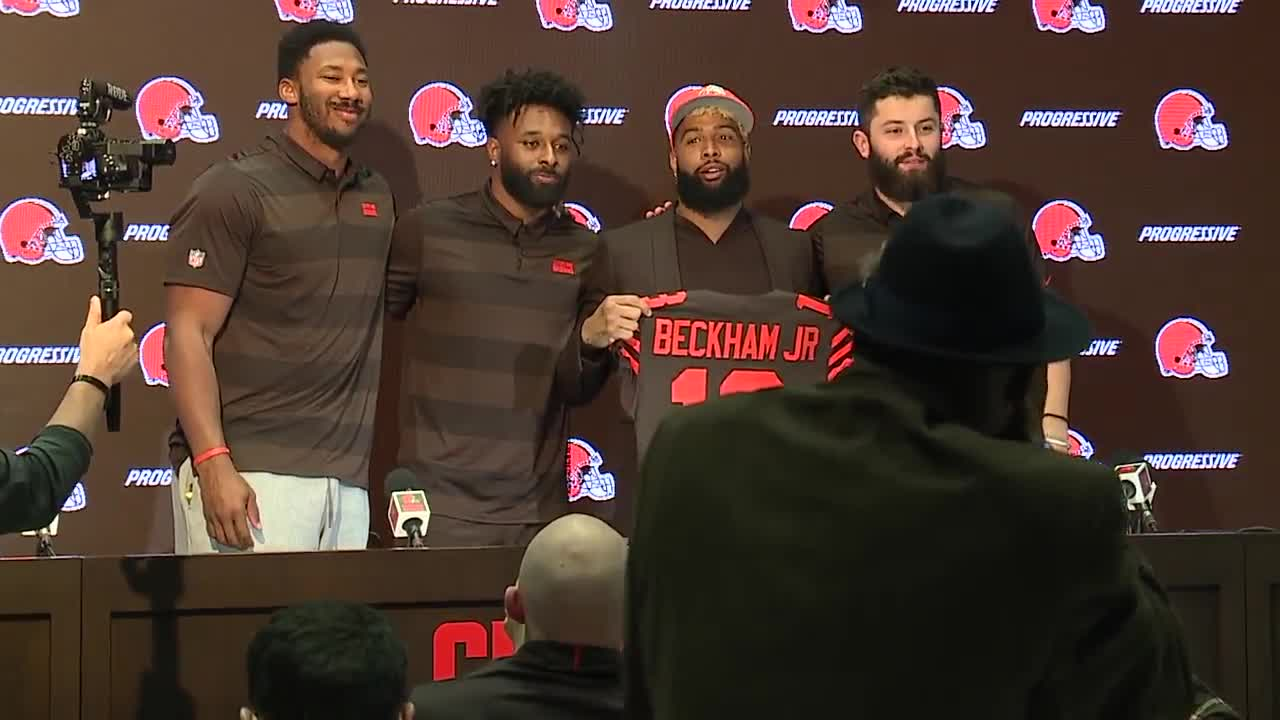 Odell Beckham Jr., Kareem Hunt and other new Browns get jersey numbers