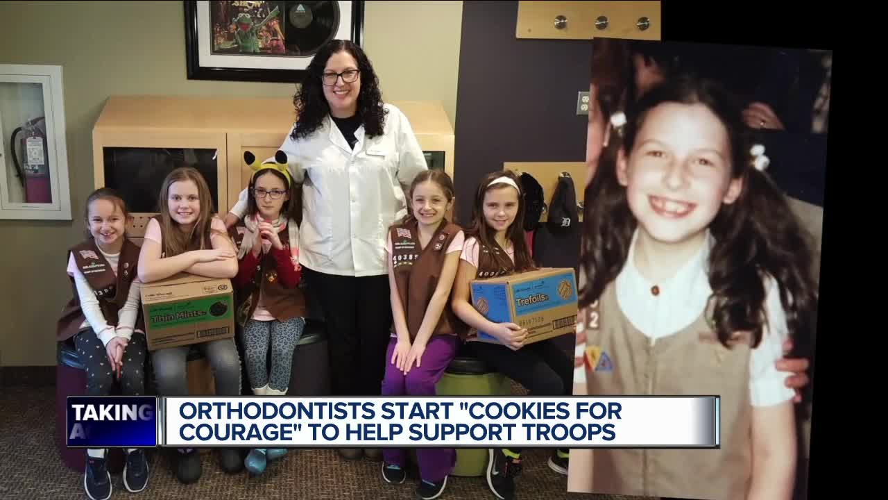 Metro Detroit orthodontists collect hundreds of boxes of