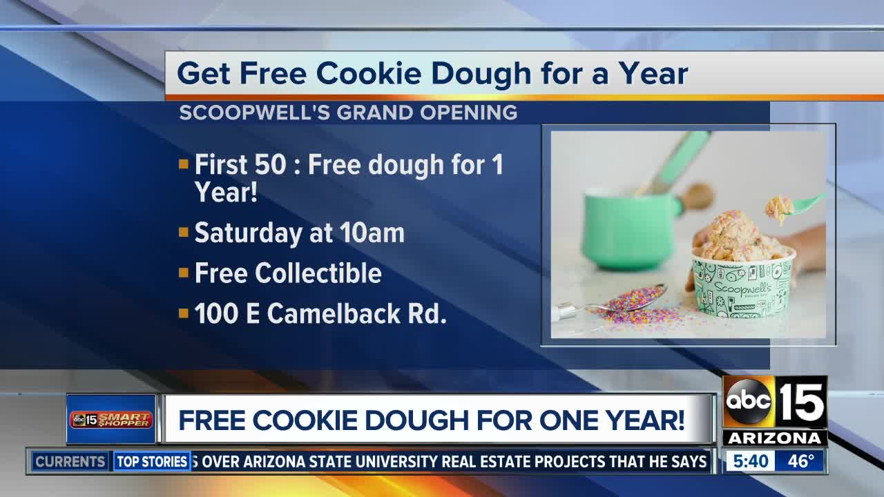 Cookie dough shop, Scoopwell's Dough Bar, to open Saturday at Uptown