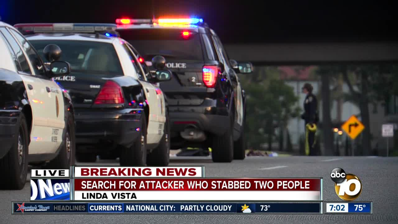 Two Stabbed In Linda Vista, Police Searching For Suspect