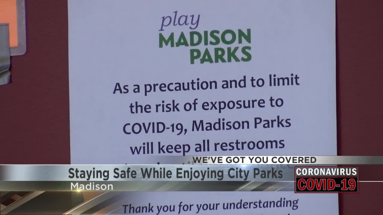 Madison Parks Still Open With Social Distancing