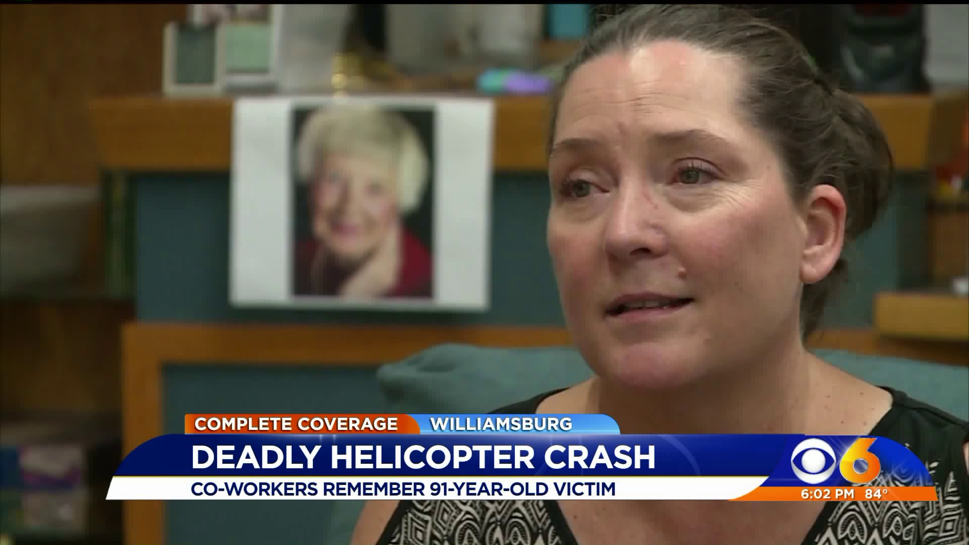91-year-old woman killed in helicopter crash had 'sparkle in her eye'