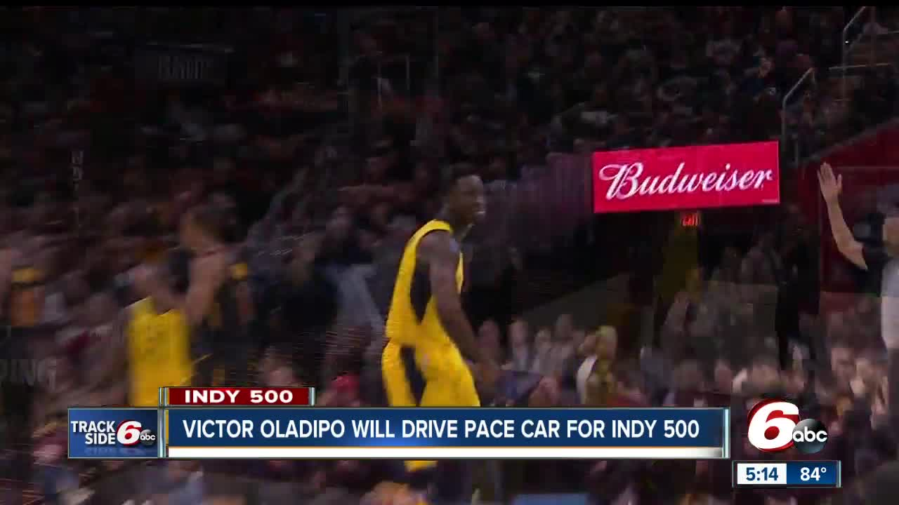 fa4b9f986ae Pacers' Victor Oladipo to drive Pace Car at Indianapolis 500