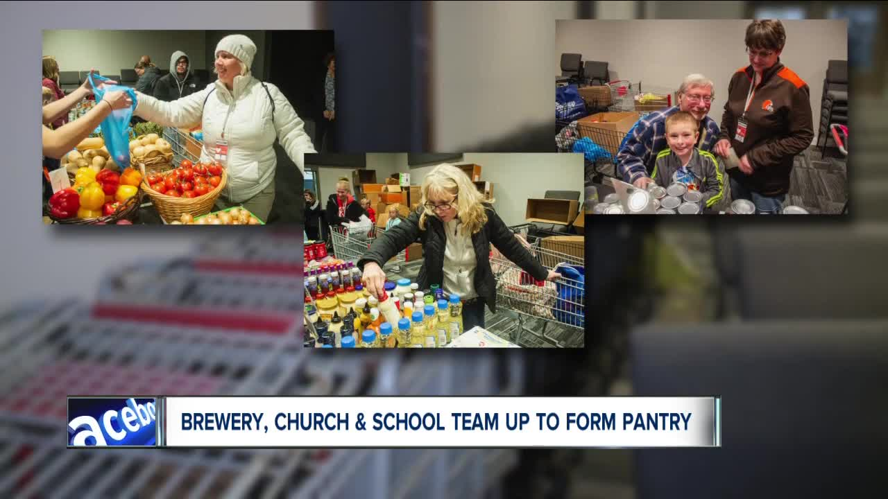 North Canton Brewery Teams Up With Church And School