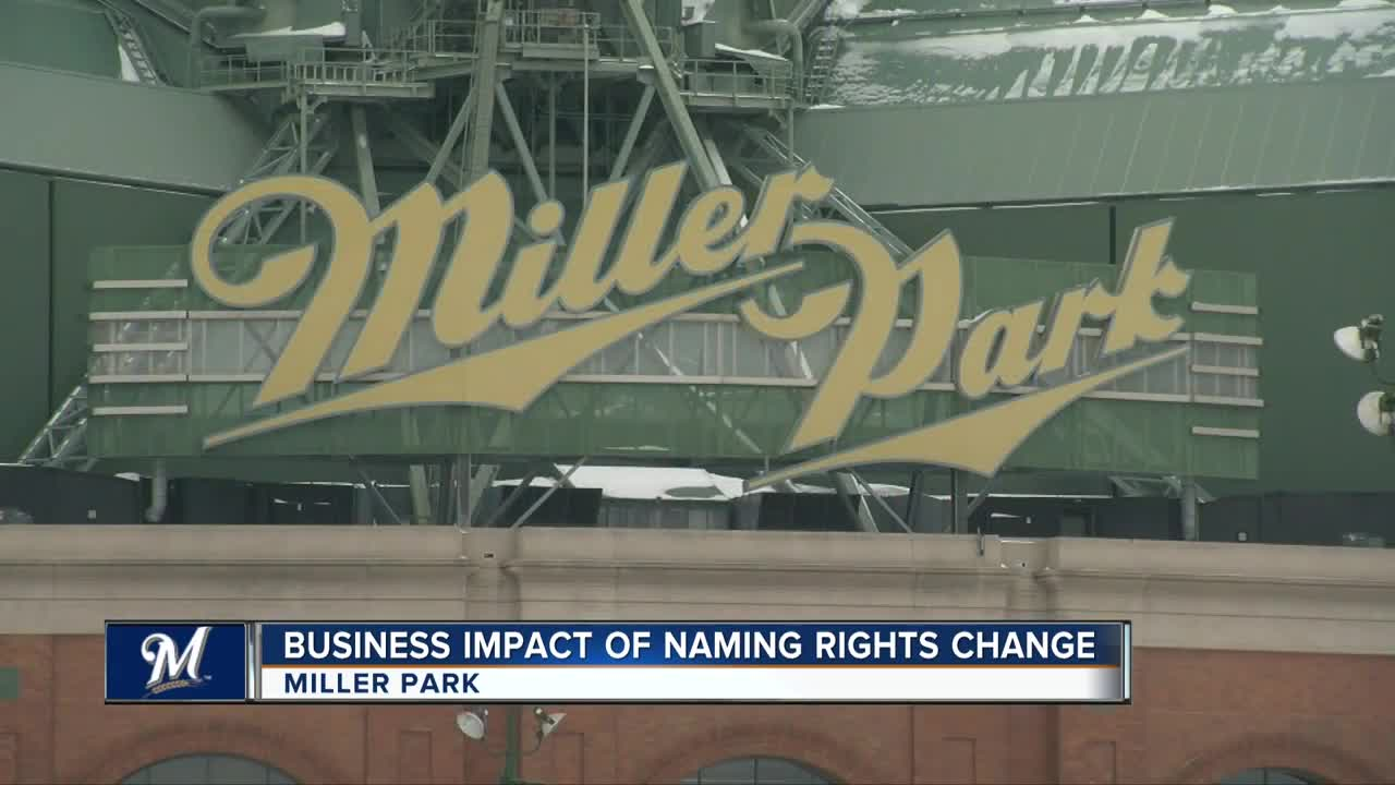 Milwaukee's Miller Park to be renamed in 2021