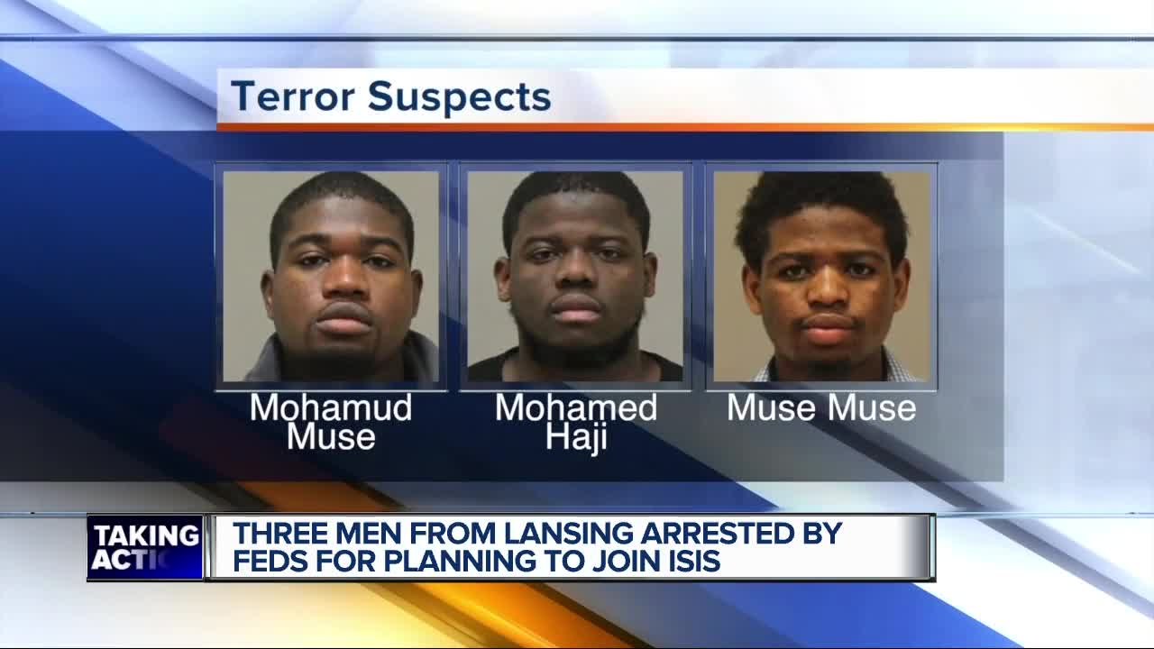 3 from Michigan charged with planning to aid ISIS