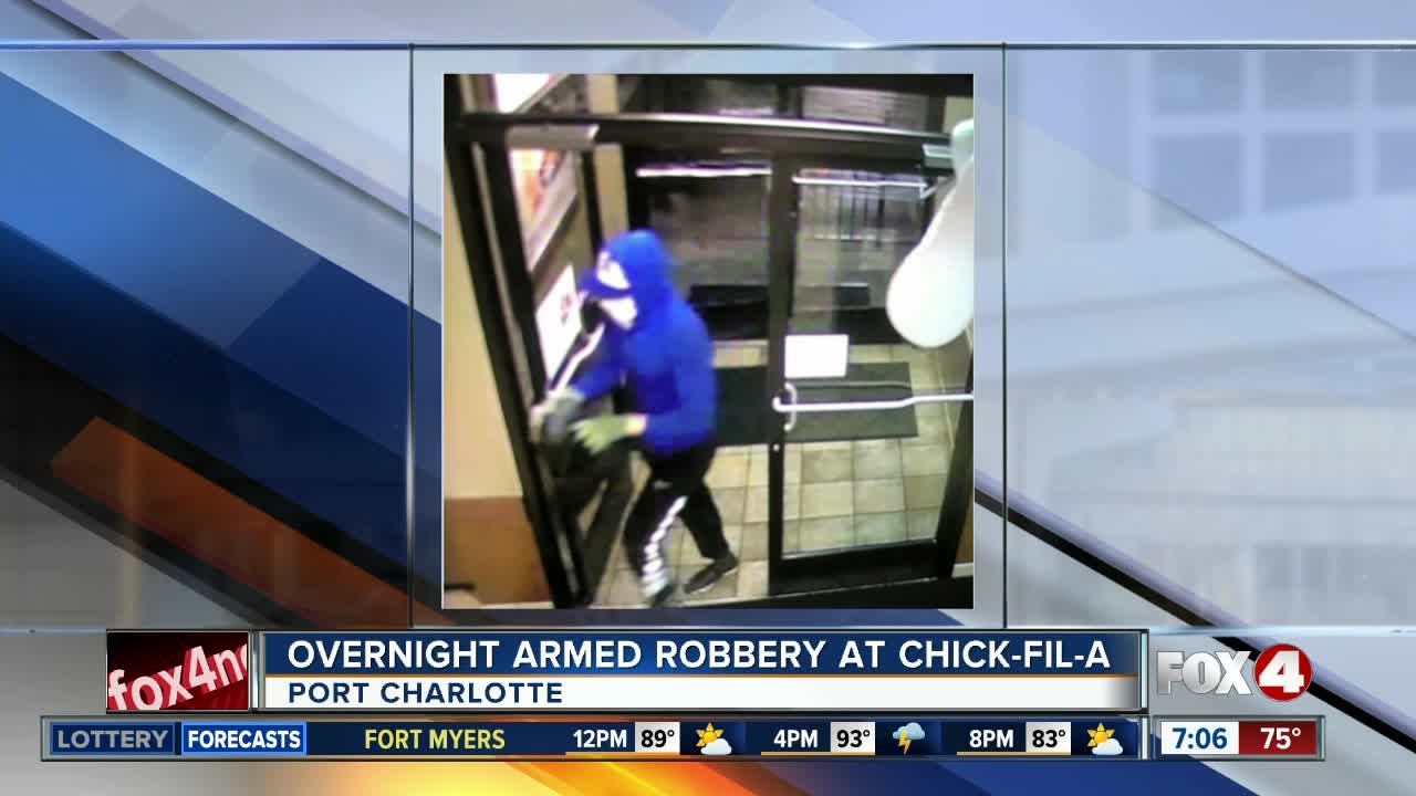 Port Charlotte Fl News >> Armed Robbery Reported At Port Charlotte Chick Fil A