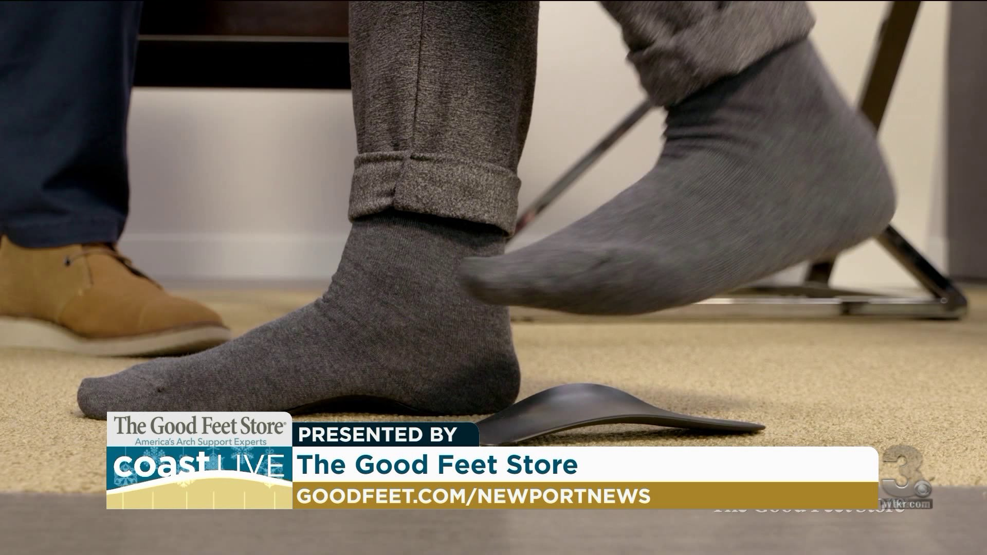 balance test for arch support in Coast Live