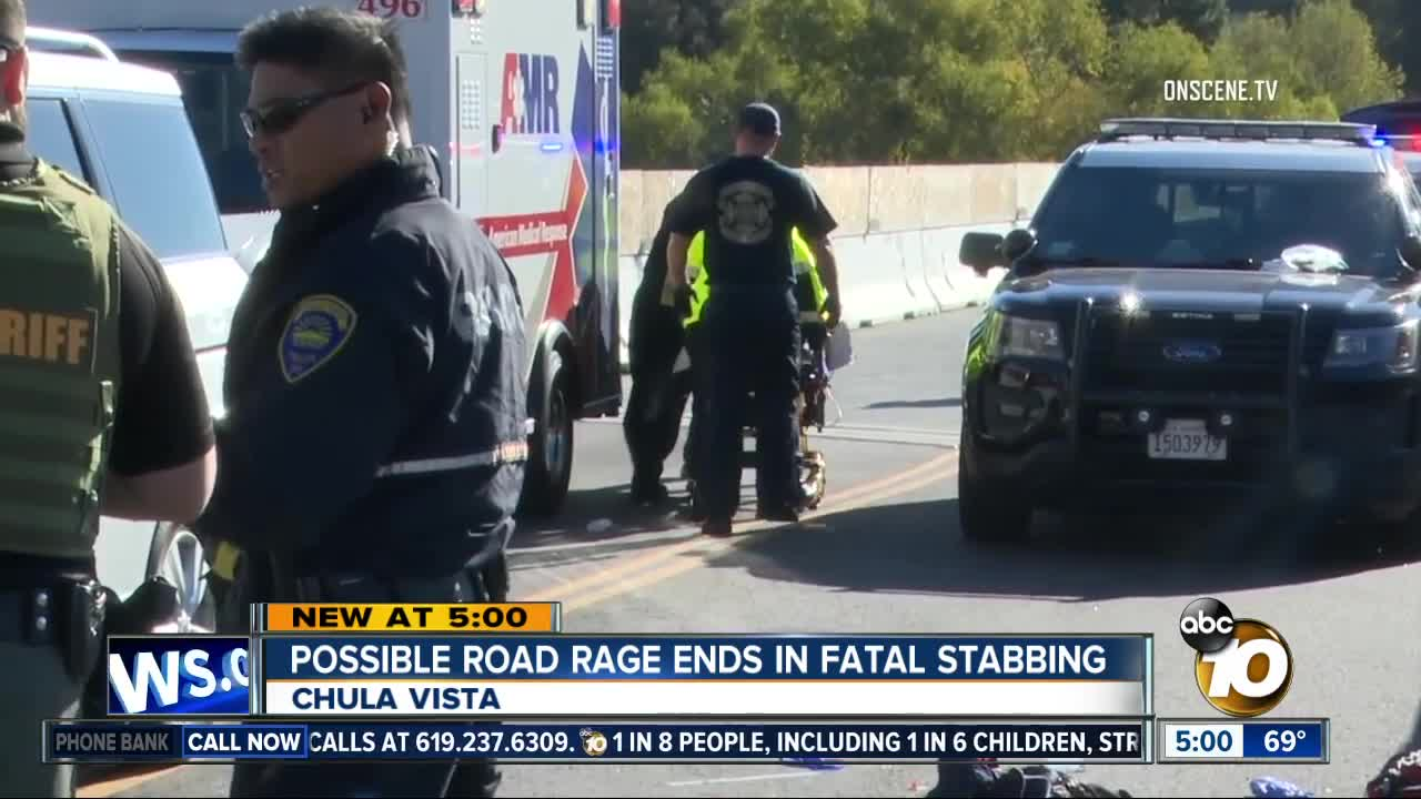 Sango Kgtv A Rolling Altercation Between Two Drivers In The Bonita Area Led To The Stabbing Of One Man And The Detention Of Another