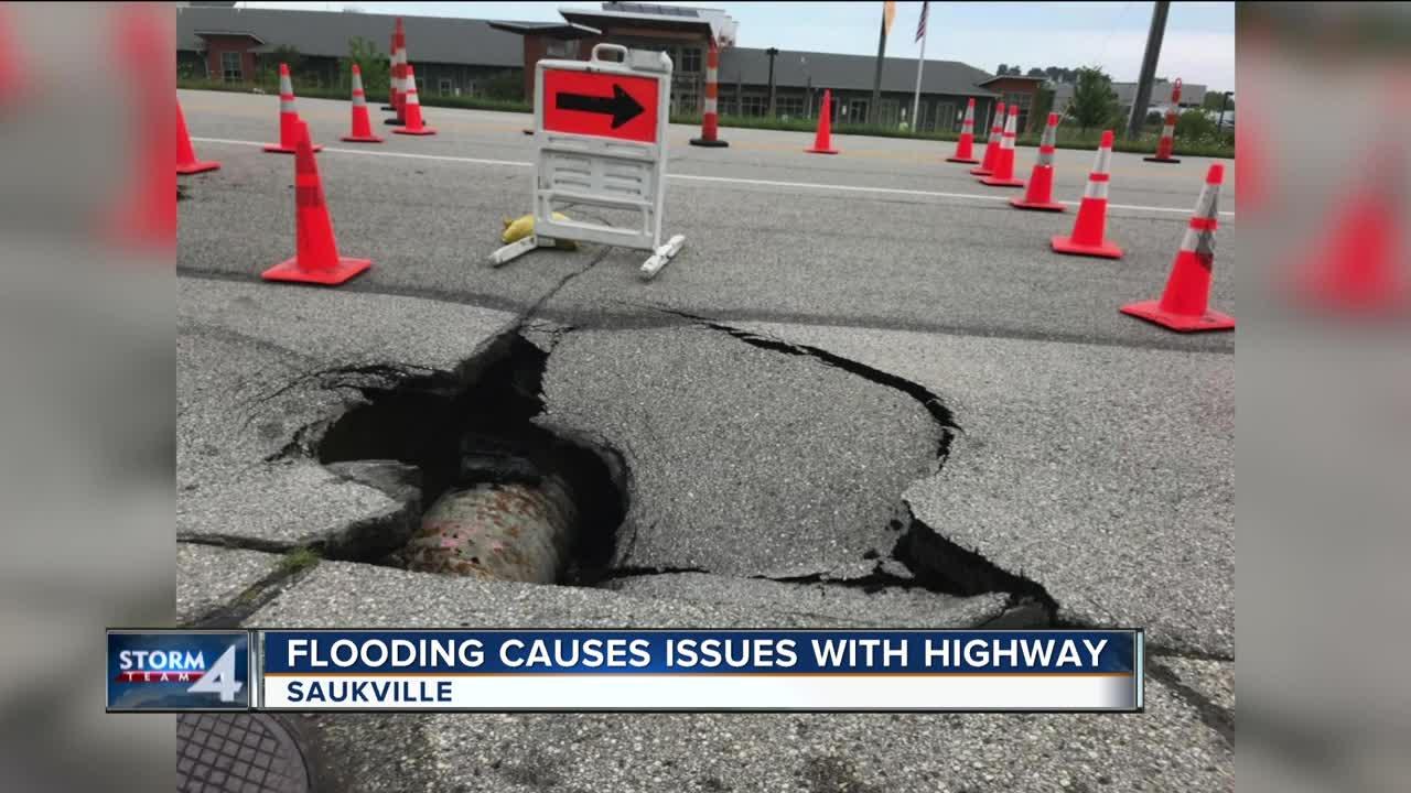 Saukville residents bracing for rising water