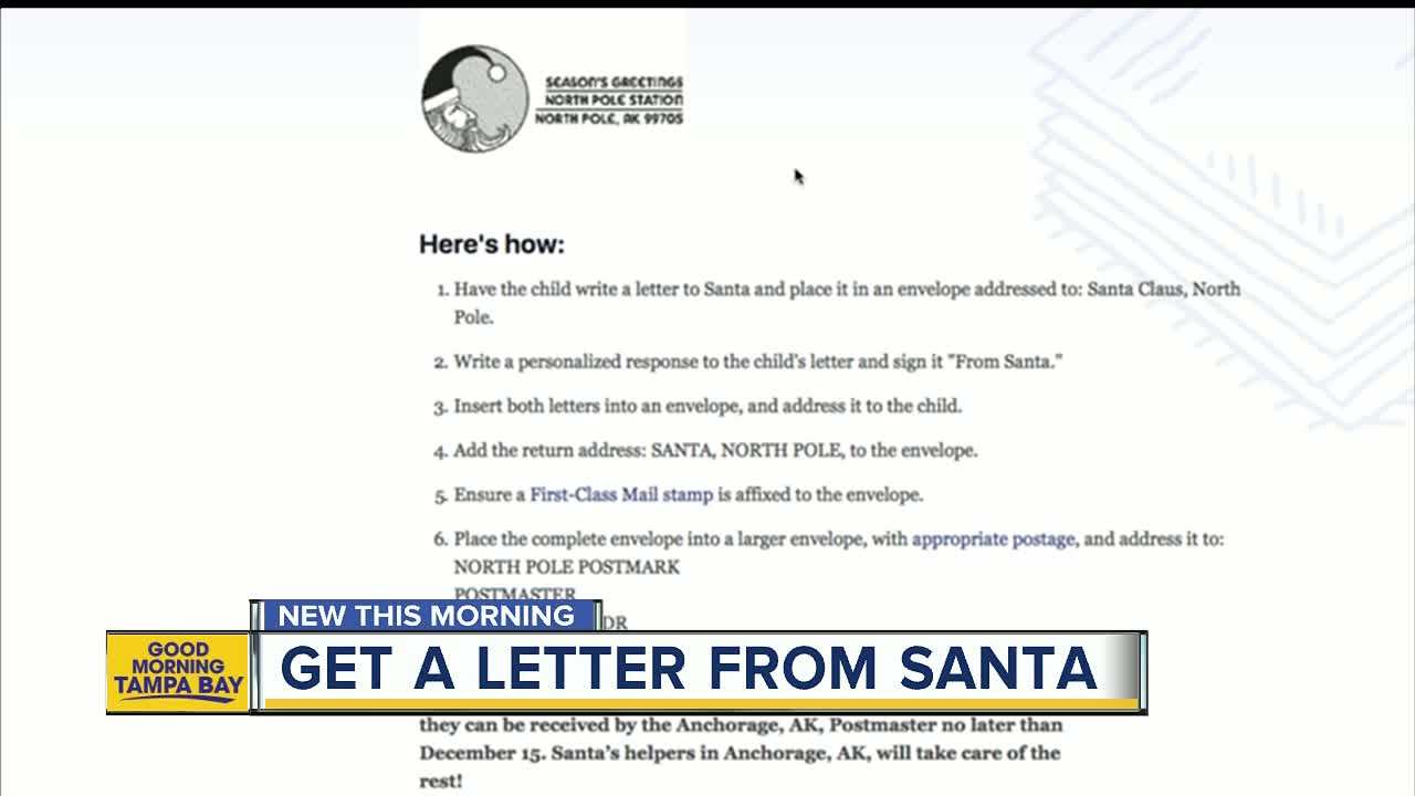 How Your Child Can Get A Letter From Santa Himself