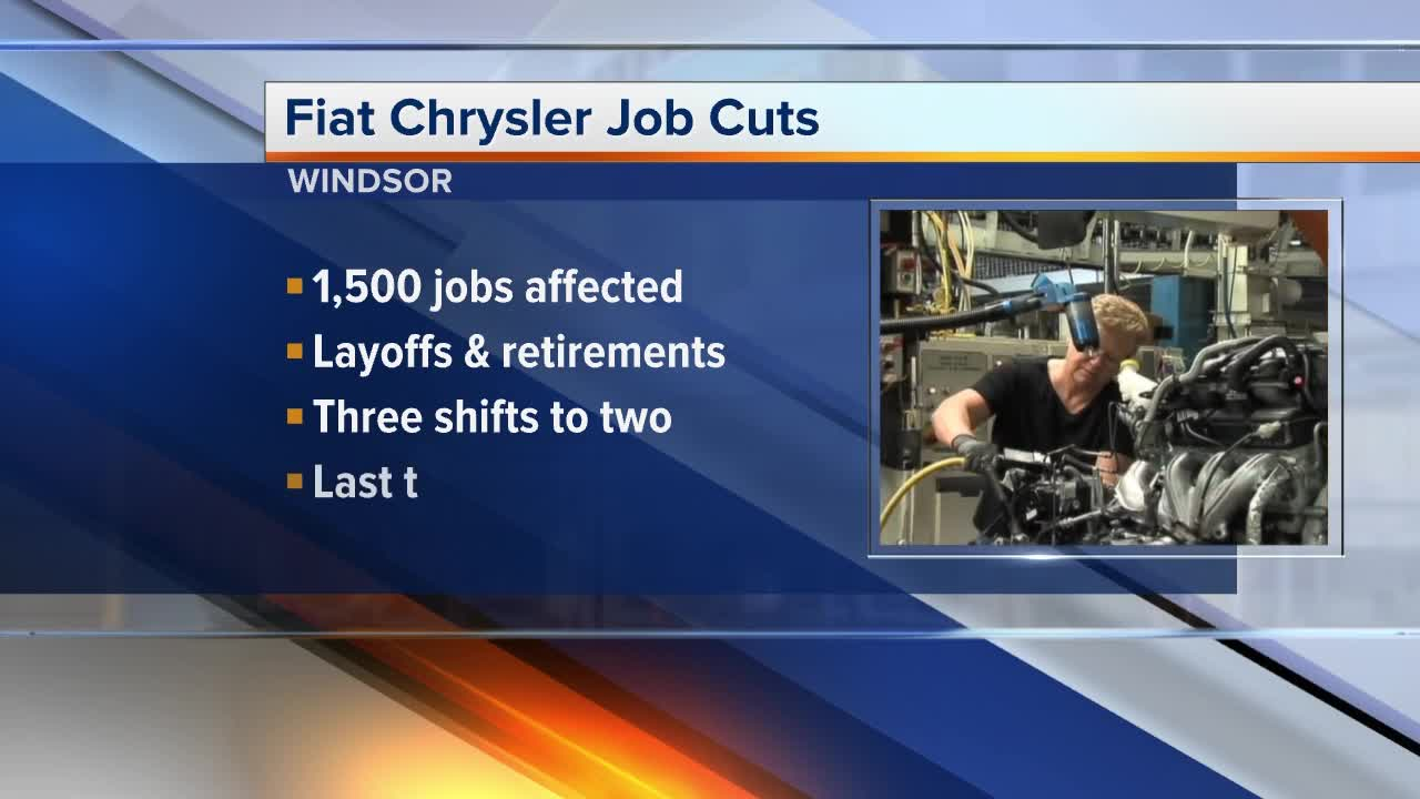 Chrysler cutting 1500 jobs