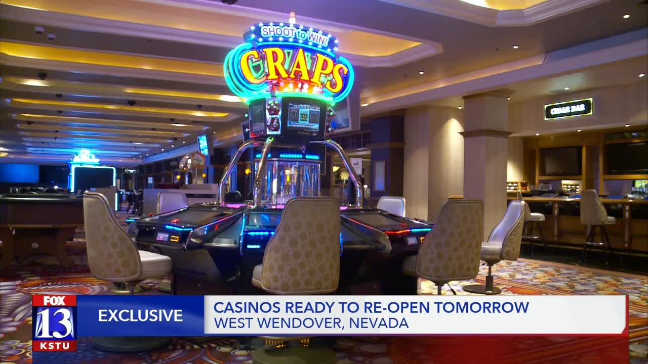 West Wendover Casinos Set To Reopen With Safety Precautions