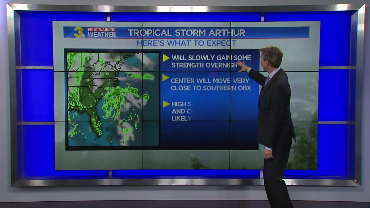 Possible Tropical Storm 'Arthur' System Growing - Several Models Showing Impact With Carolinas