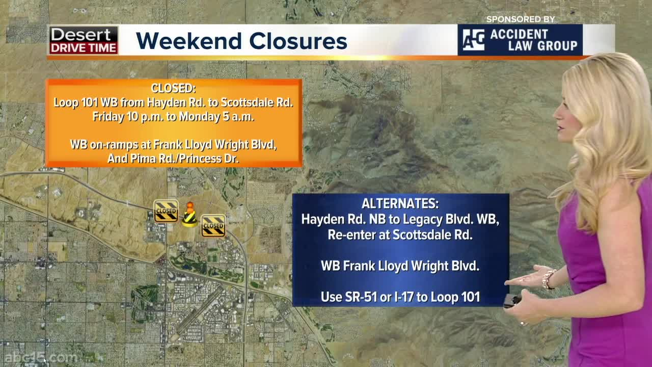 Weekend Traffic Alert (August 16-19): Expect closures and