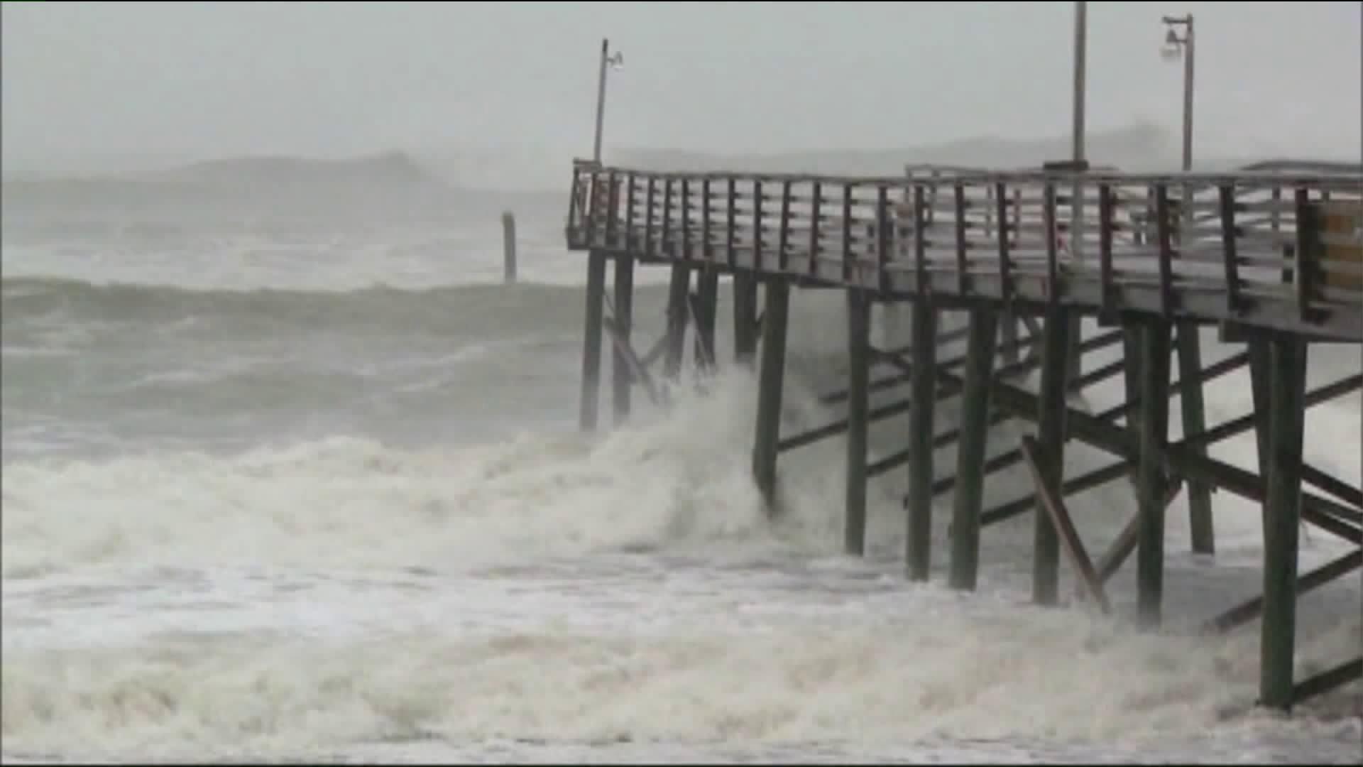 NHC: Tropical Storm Fay forms east of North Carolina