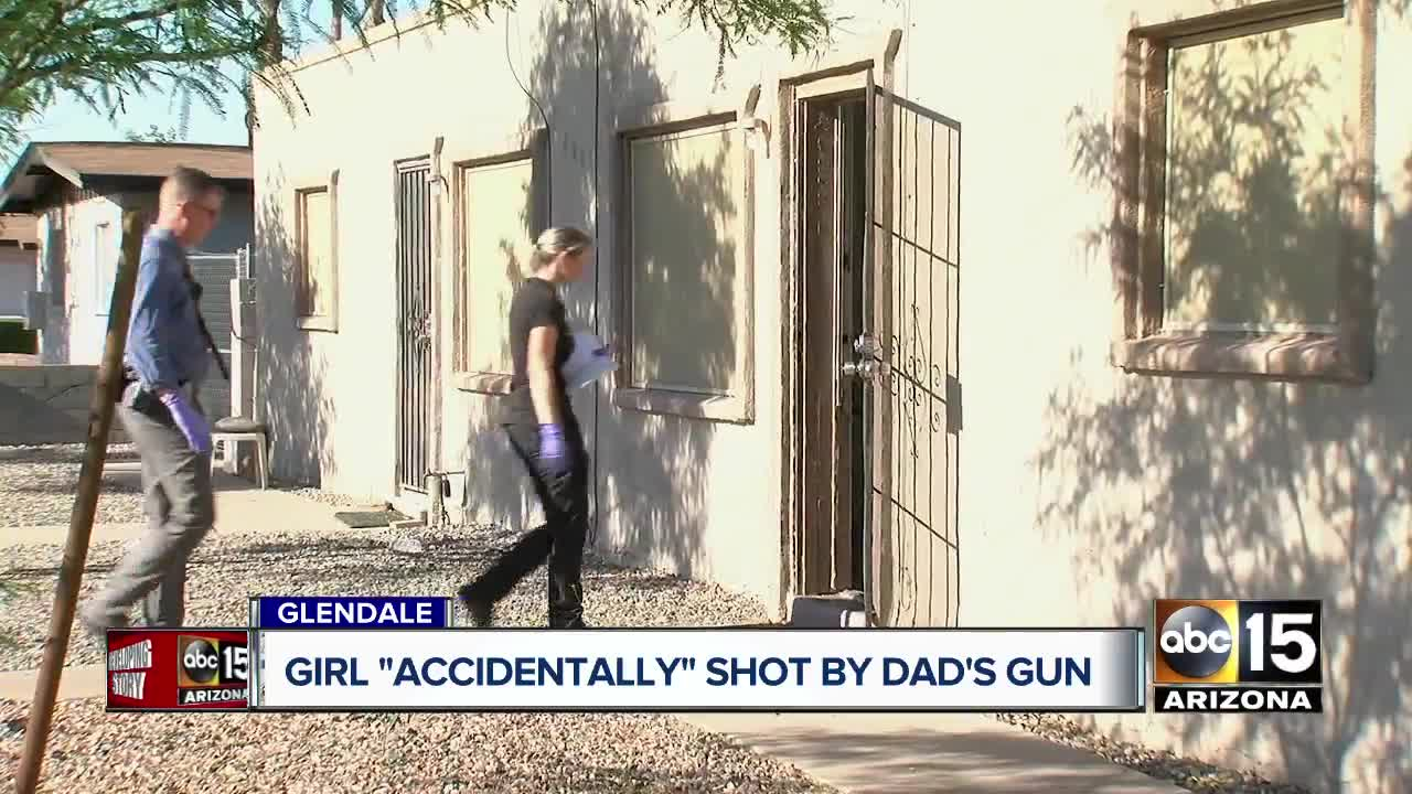 Glendale man arrested after accidentally shooting 6-year-old