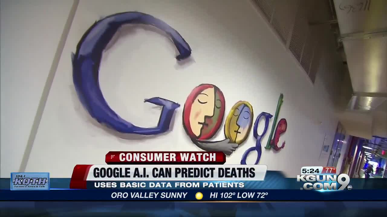 Google's A I  death predictor can envision your life expectancy