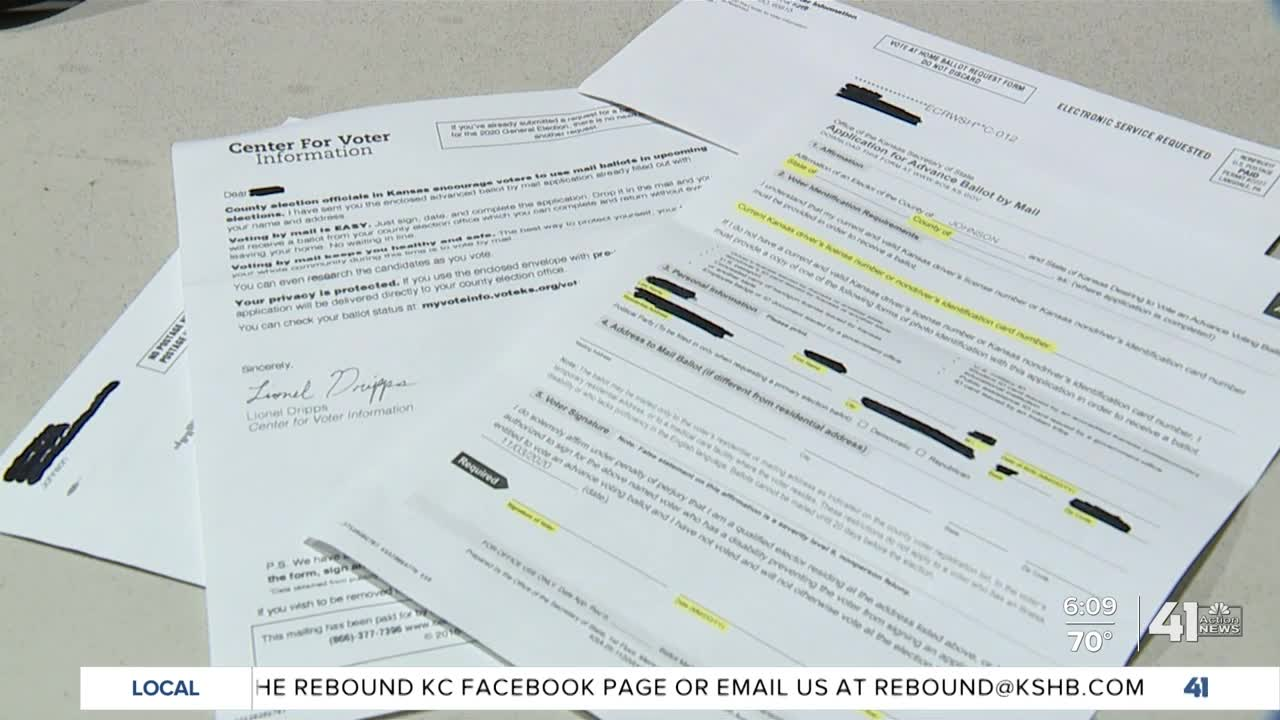 General Election Mail-in Ballot Applications Mailed to Calvert Citizens