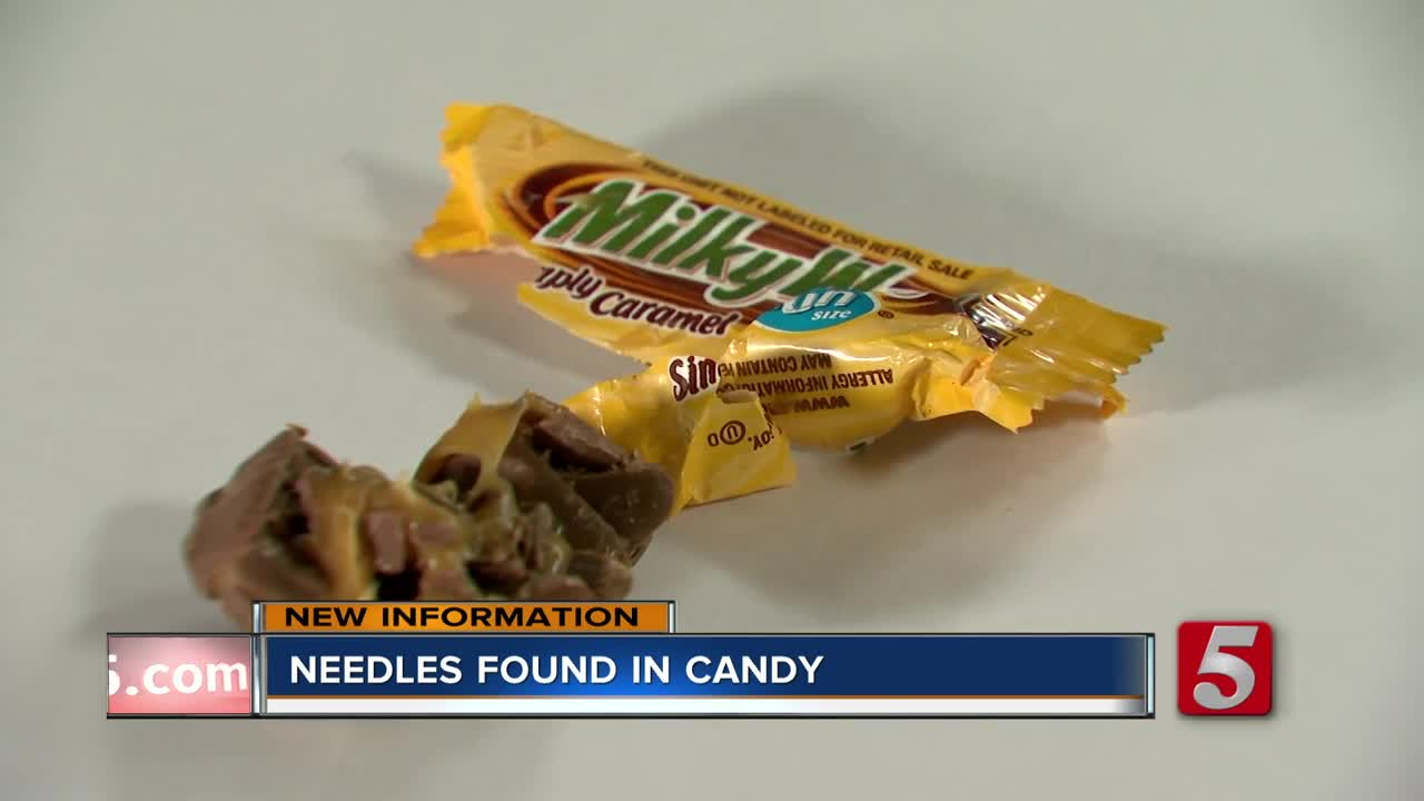 more needles found in halloween candy, officials say