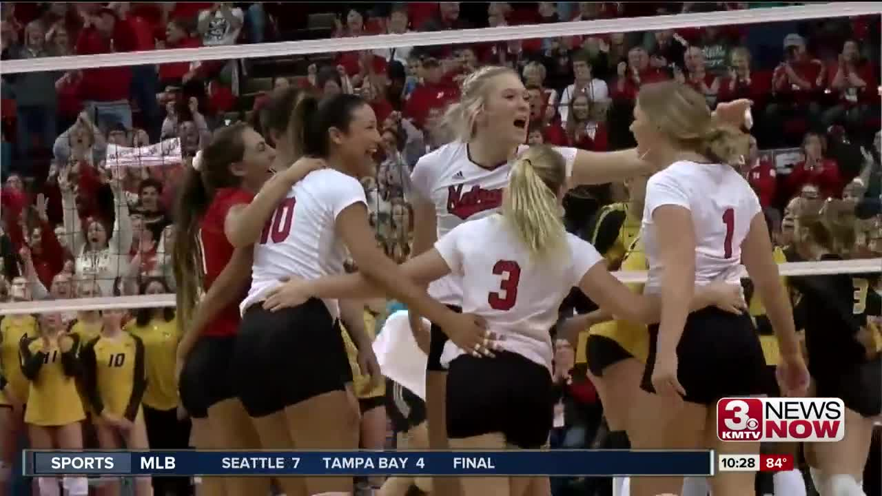 Nebraska Volleyball Setter Hames Ready To Lead Huskers As A Captain
