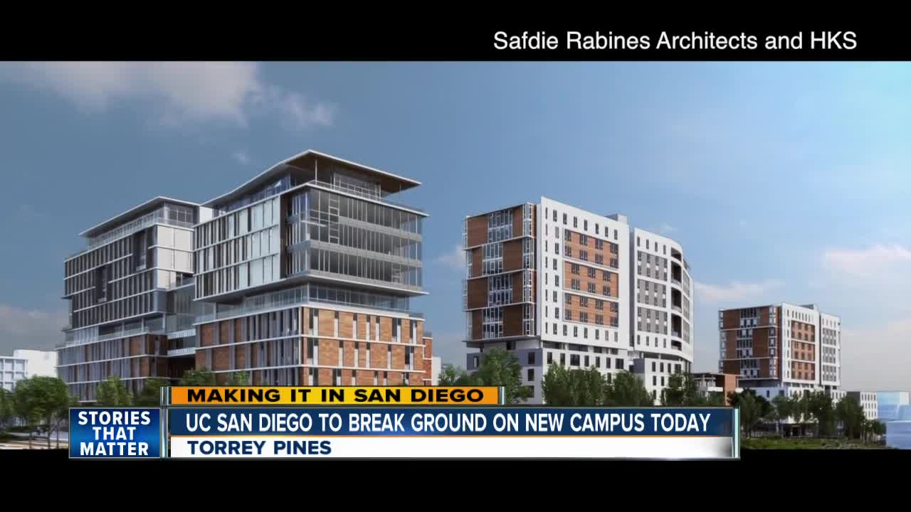 Uc San Diego >> Construction Starts On New Campus At Uc San Diego