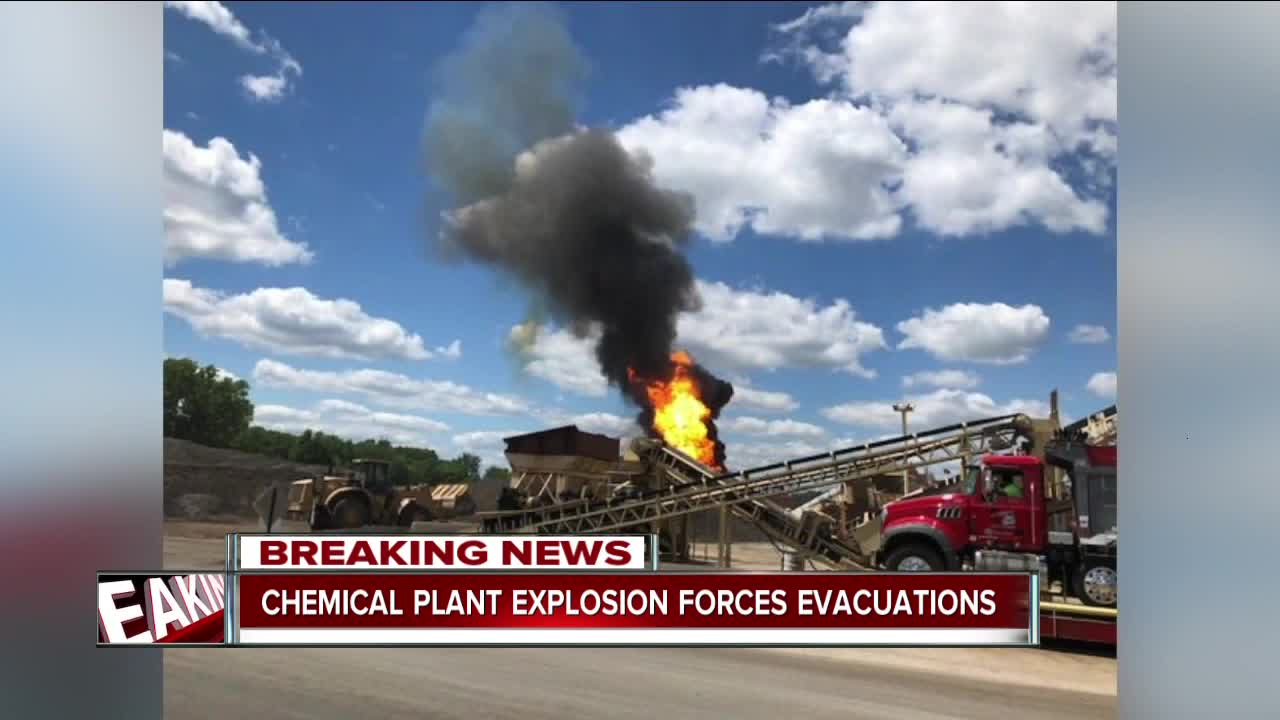 Police release evacuation details related to explosion at