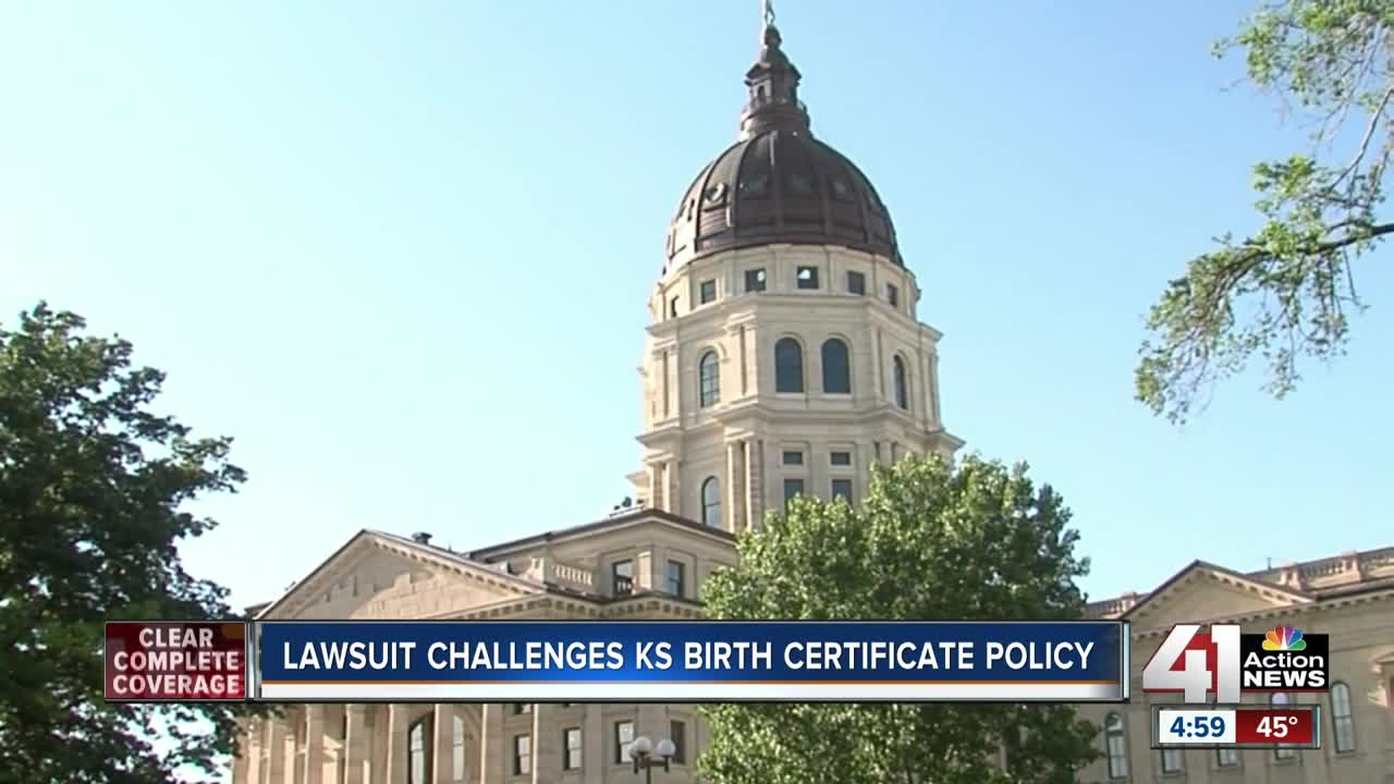 Lawsuit Challenges Kansas Birth Certificate Policy For Transgender