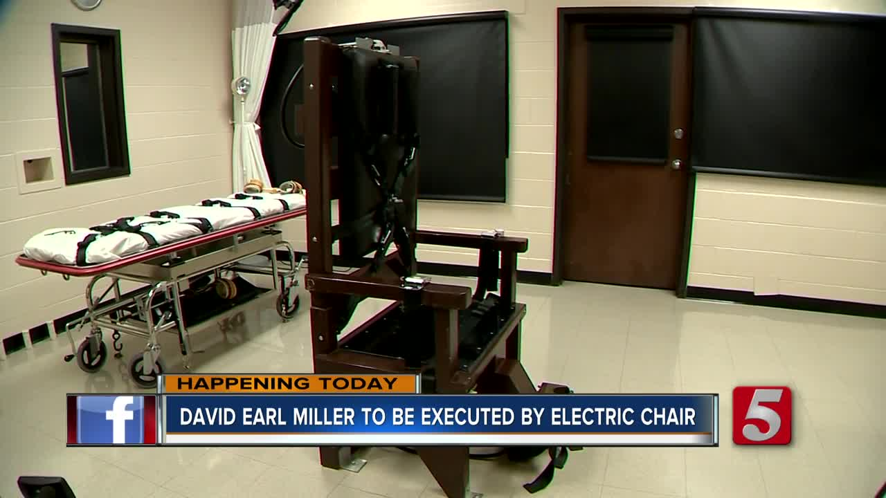 Tennessee set to execute murderer by electric chair on Thursday