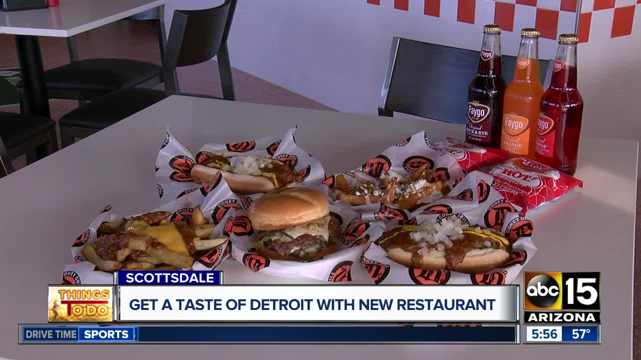 Detroit Coney Grill Opens Saturday In Scottsdale: Take A