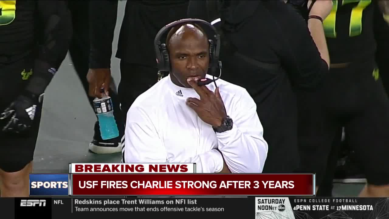 Former Longhorn Charlie Strong fired from USF